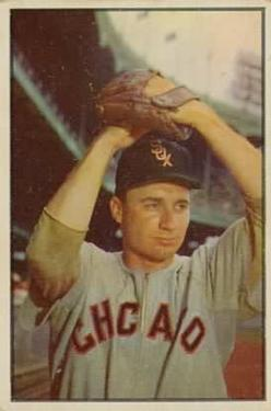 1953 Bowman Color #50 Lou Kretlow