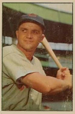 1953 Bowman Color #58 Willard Marshall