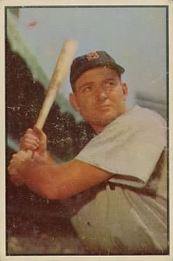 1953 Bowman Color #61 George Kell