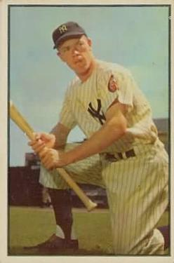 1953 Bowman Color #63 Gil McDougald