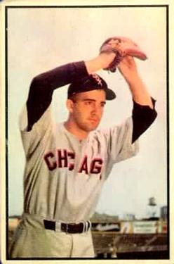 1953 Bowman Color #73 Billy Pierce