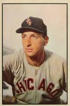 1953 Bowman Color #75 Saul Rogovin
