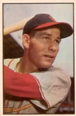1953 Bowman Color #85 Solly Hemus