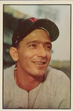 1953 Bowman Color #89 Sandy Consuegra