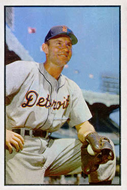 1953 Bowman Color #91 Steve Souchock