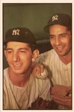 1953 Bowman Color #93 Phil Rizzuto/Billy Martin