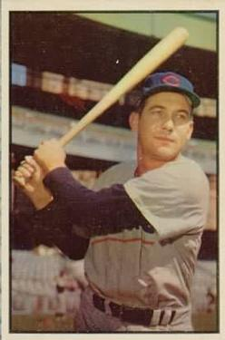 1953 Bowman Color #94 Bob Addis