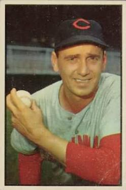 1953 Bowman Color #106 Ken Raffensberger
