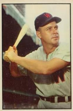 1953 Bowman Color #109 Ken Wood