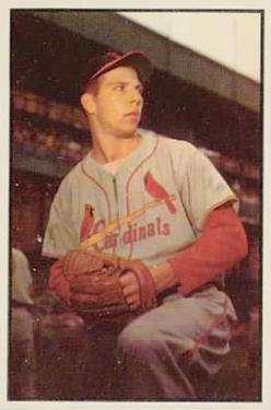 1953 Bowman Color #115 Cloyd Boyer