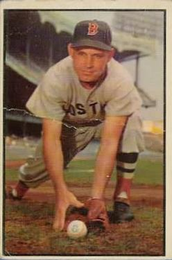 1953 Bowman Color #123 Johnny Lipon