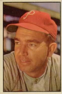 1953 Bowman Color #133 Willie Jones