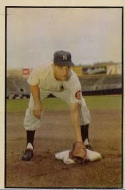 1953 Bowman Color #136 Jim Brideweser RC