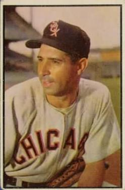 1953 Bowman Color #137 Sam Dente front image