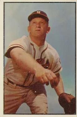 1953 Bowman Color #156 Max Surkont