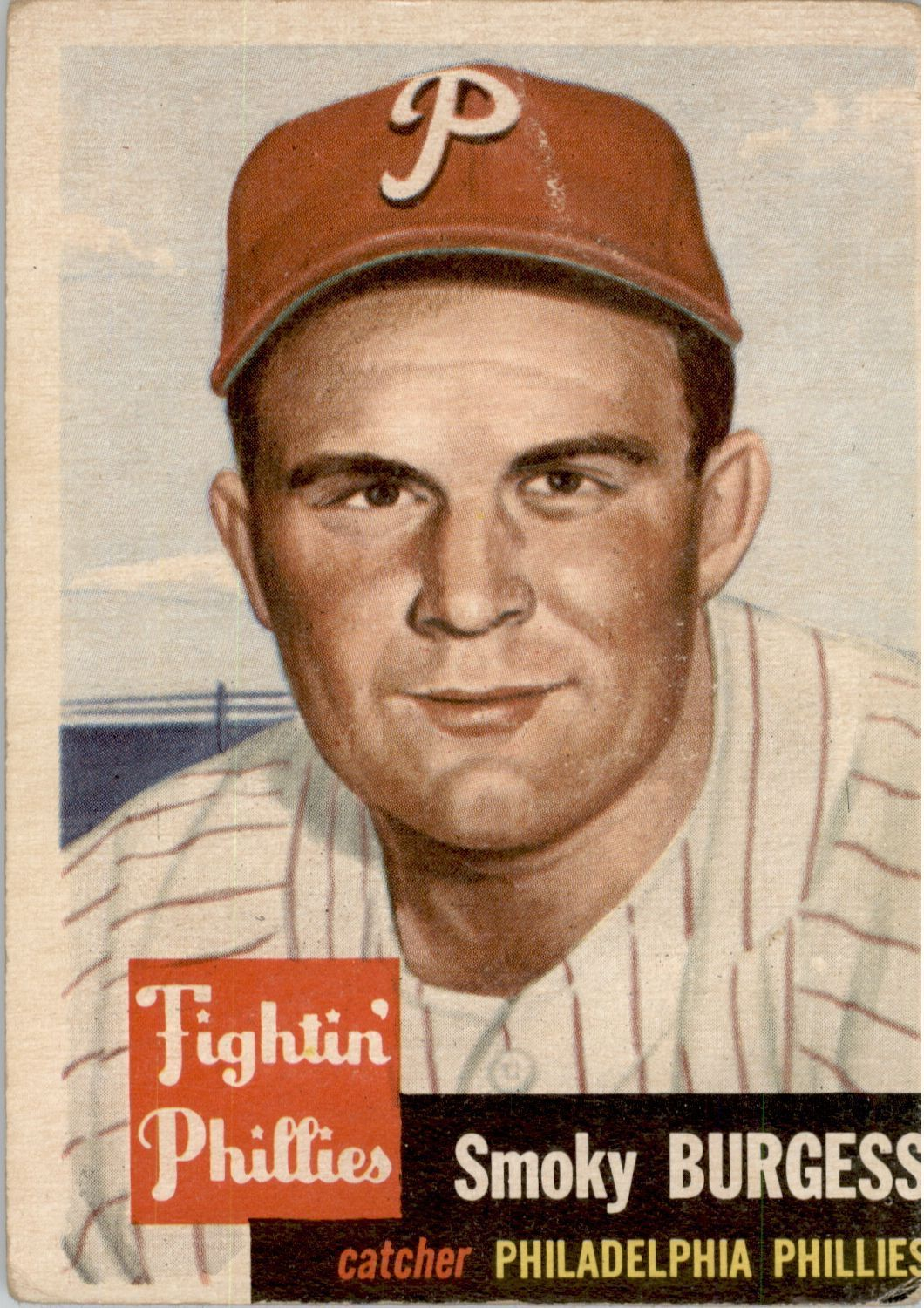 1953 Topps #10 Smoky Burgess SP