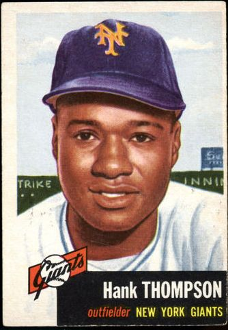 1953 Topps #20 Hank Thompson