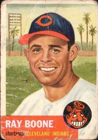 1953 Topps #25 Ray Boone