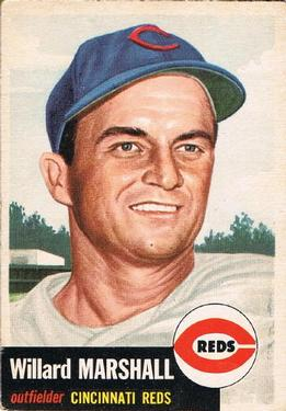 1953 Topps #95 Willard Marshall DP