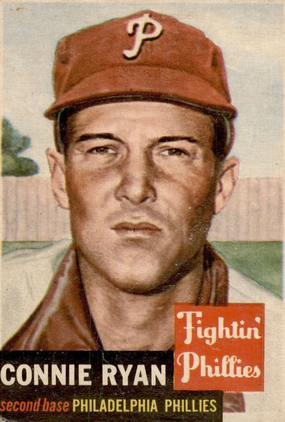 1953 Topps #102 Connie Ryan DP