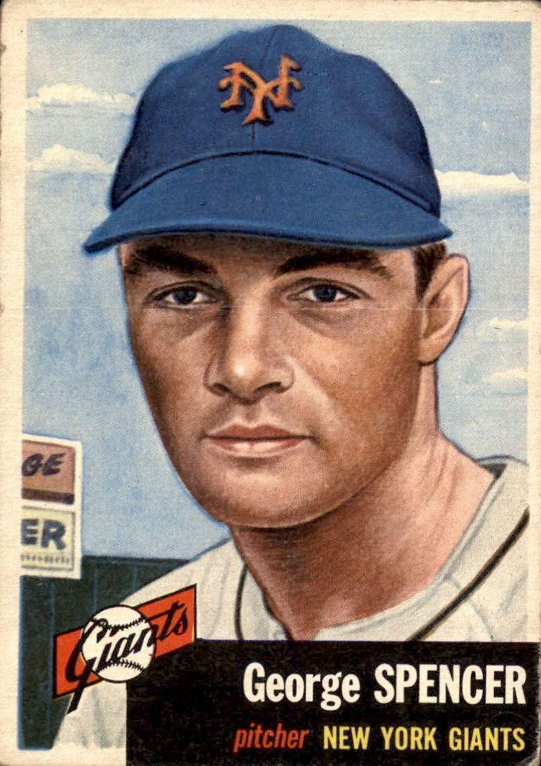 1953 Topps #115 George Spencer