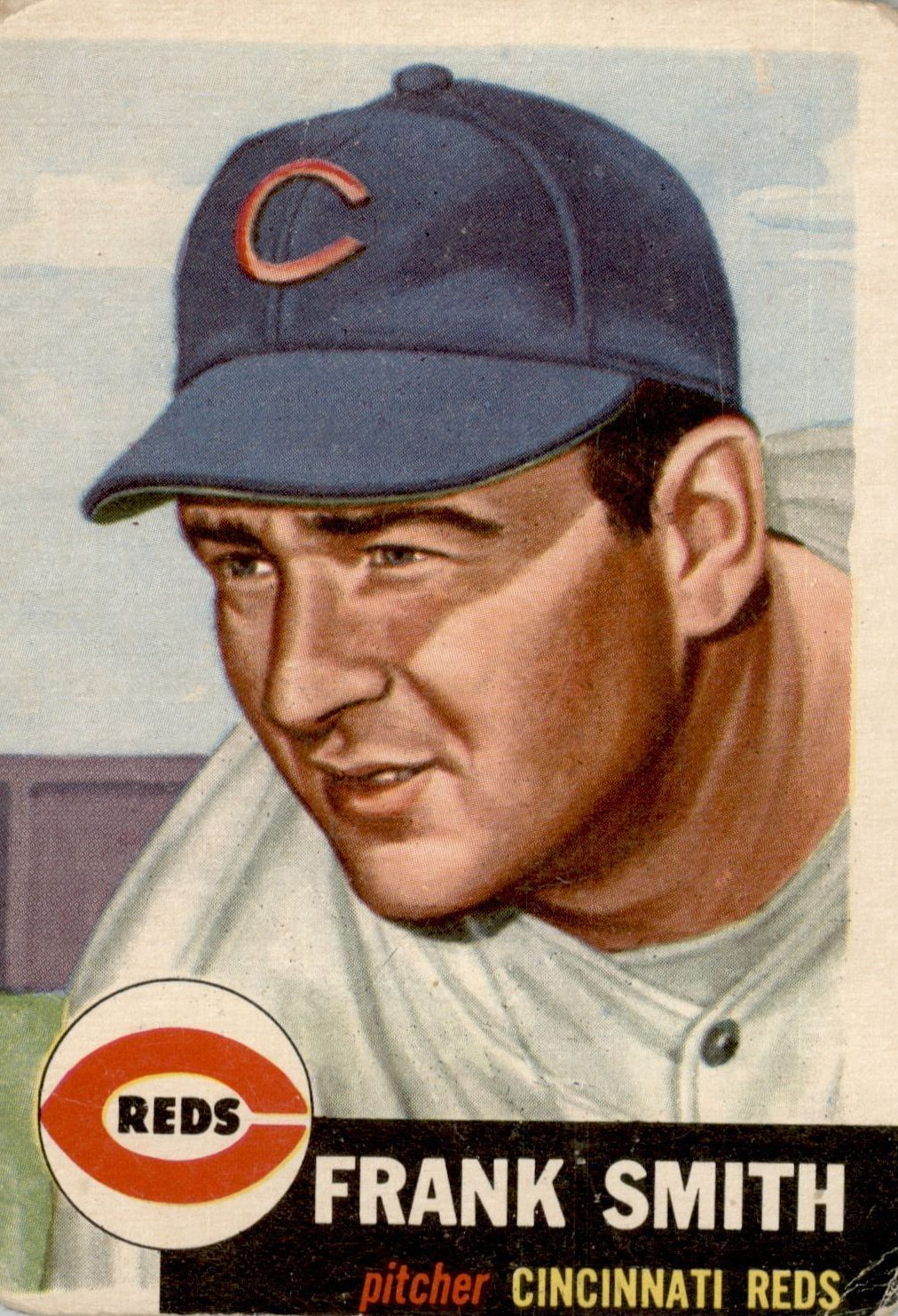 1953 Topps #116 Frank Smith DP