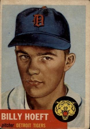 1953 Topps #165 Billy Hoeft