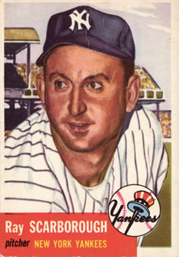 1953 Topps #213 Ray Scarborough