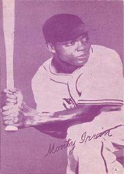 1953 Exhibits Canadian #6 Monte Irvin