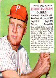 1953 Red Man #NL3 Richie Ashburn