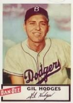1954 Dan-Dee #11 Gil Hodges