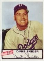 1954 Dan-Dee #24 Duke Snider
