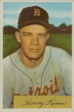 1954 Bowman #23 Harvey Kuenn RC
