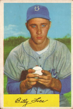 1954 Bowman #42 Billy Loes