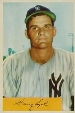 1954 Bowman #49 Harry Byrd front image