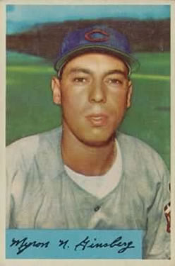 1954 Bowman #52 Joe Ginsberg