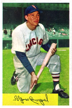 1954 Bowman #54 Chico Carrasquel