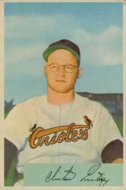 1954 Bowman #69 Clint Courtney