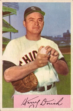 1954 Bowman #86 Harry Dorish