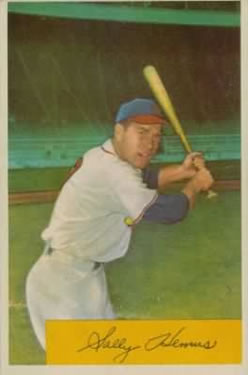 1954 Bowman #94A Solly Hemus 476/1343 Assists