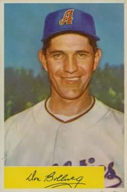 1954 Bowman #115 Don Bollweg