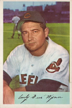 1954 Bowman #164 Early Wynn front image