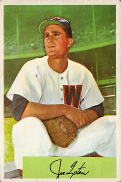 1954 Bowman #180 Joe Tipton