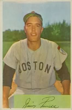 1954 Bowman #210 Jimmy Piersall