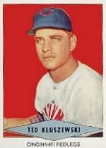 1954 Red Heart #14 Ted Kluszewski SP