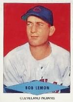 1954 Red Heart #16 Bob Lemon SP