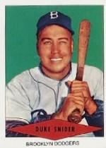 1954 Red Heart #29 Duke Snider
