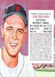 1954 Red Man #AL24 Jim Delsing