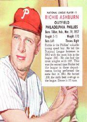 1954 Red Man #NL1 Richie Ashburn
