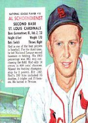 1954 Red Man #NL10 Red Schoendienst